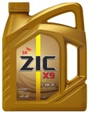 ZIC 5W-30 X9 LS SN синт. - 4л  229.51 LL-04 502/505.01 dexos2