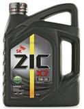 ZIC 5W-30 X7 SL/CF дизель синт. - 4л