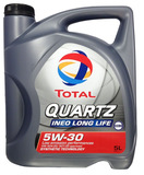 TOTAL  5W-30 QUARTZ ineo long life синт 5л