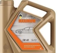 Rosneft Maximum масло моторное 5w40 - 4л