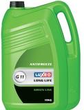 Антифриз  LUXOIL G11 зеленый - 10 кг