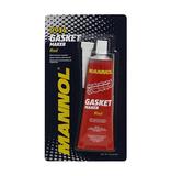 Герметик-прокладка красный силиконовый (от -50С до +300С) Gasket Maker Red 85гр MANNOL