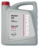 NISSAN Motor Oil  5W-40 A3/B4 Европа синт. - 5л