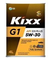 KIXX G1 5W-30 SN Plus синт. 4л мет.канистра