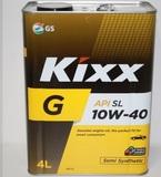 KIXX G 10W-40 SL п/синт. 4л.мет.канистра