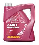 MANNOL мототехника 2T-TAKT SNOW-POWER синт. - 4л